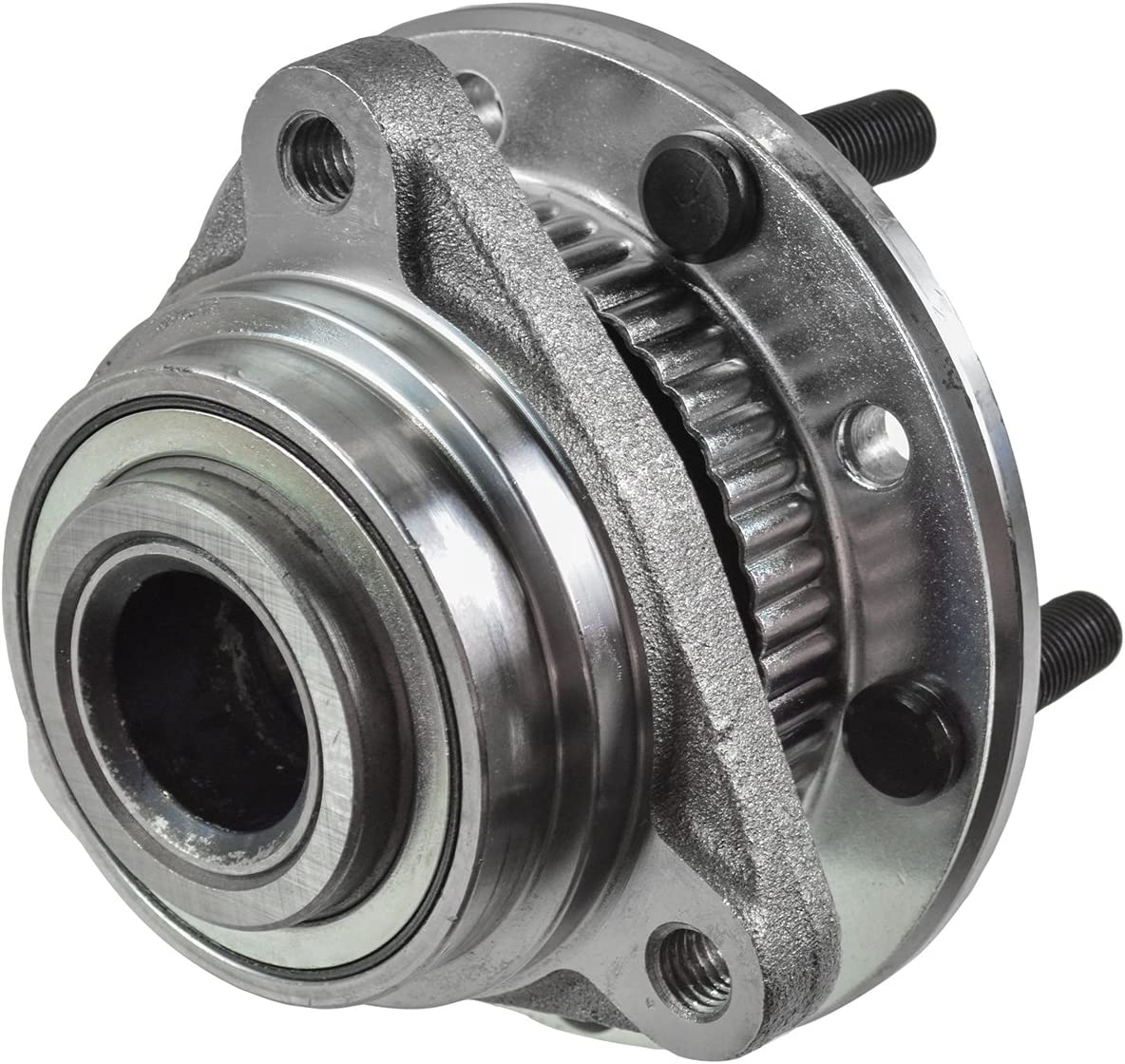 TRQ Front Wheel Hub /& Bearing for Chevy GMC Pickup Truck S10 Olds 4x4 4WD