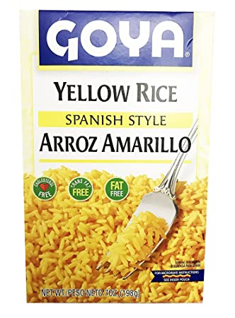 Amazon Goya Yellow Rice Spanish Style 7oz Arroz Amarillo