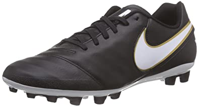 Discount Sale Nike Tiempo Genio Ii Ic - Black / White / Metallic Gold Shop No.64652460