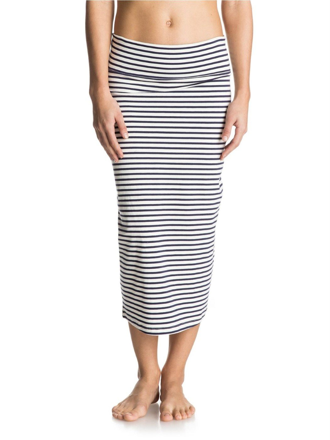 Roxy Junior's Bolsa Chicca Solid Smocked Skirt, Small Stripe Eclipse, Small