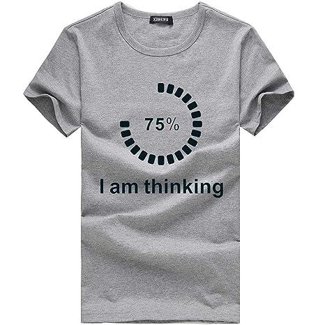 Wawer Hombre Camiseta - Pareja Mode Impresora - Camisa ...