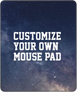 CIRIYDO Personalized Mouse Pad Custom Mouse Pad with Photo Customized Mousepad Non-Slip Rubber Base Mouse Pads for Computers Laptop Office Desk (Vertical, 7 x 8.6 in)
