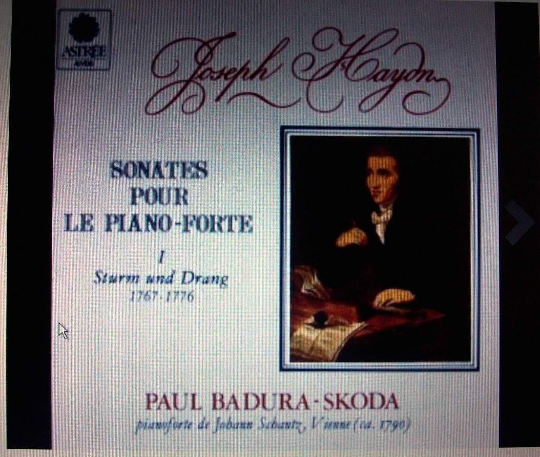 Franz Joseph Haydn: Sonatas for Fortepiano I - Paul Badura-Skoda