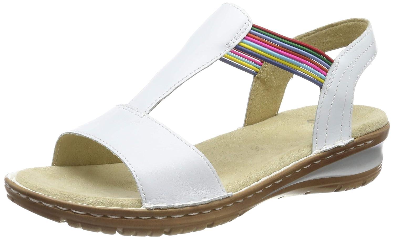 Weiß (Weißs 77) ARA Damen Hawaii 1237206 T-Spangen Sandalen