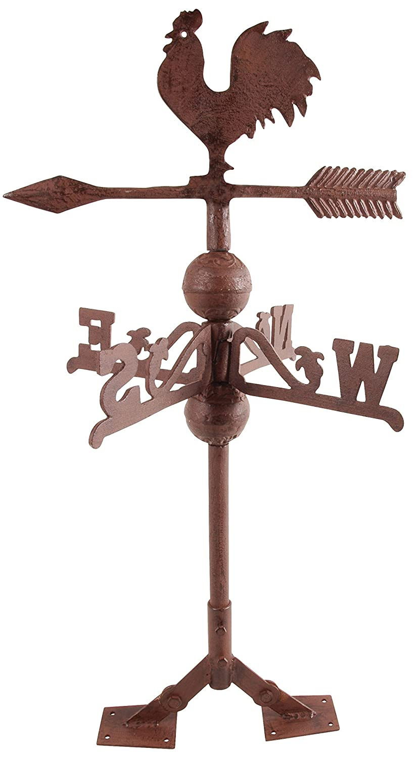 Esschert Fallen Fruits Cast Iron Rooster Weathervane WV10