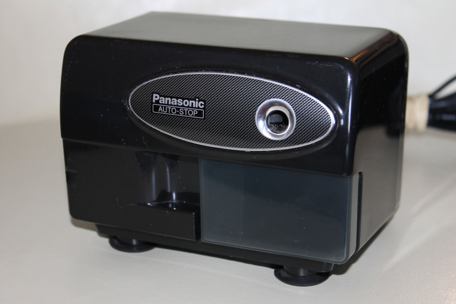 Panasonic(R) KP-310 Electric Pencil Sharpener, Black