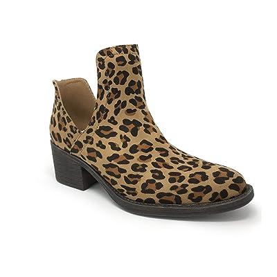 Amazon.com | Volatile Women's Clio Cut Out Ankle Bootie | Ankle & Bootie