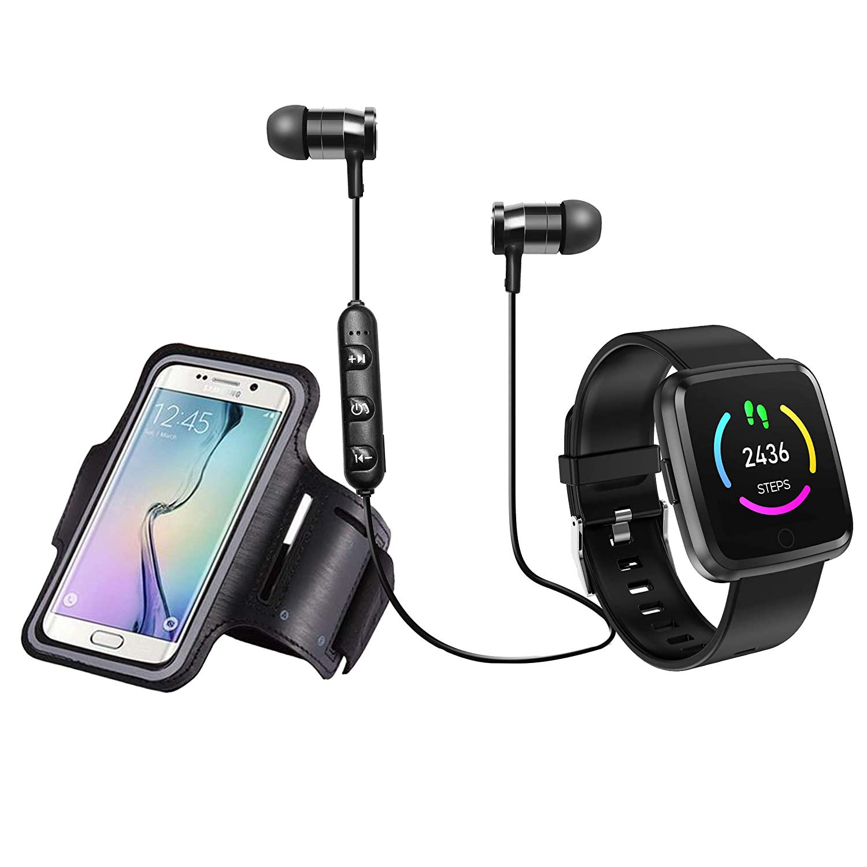 Blaupunkt BLP1560 Pack Reloj de Actividad con GPS Auriculares ...