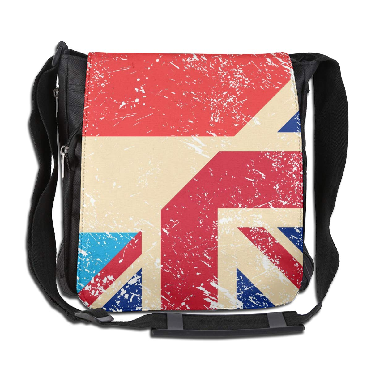 Unisex Casual Satchel Messenger Bags Birtish And Luxembourg Retro Flag Crossbody Shoulder Bag School Bags For School//Work//Trips