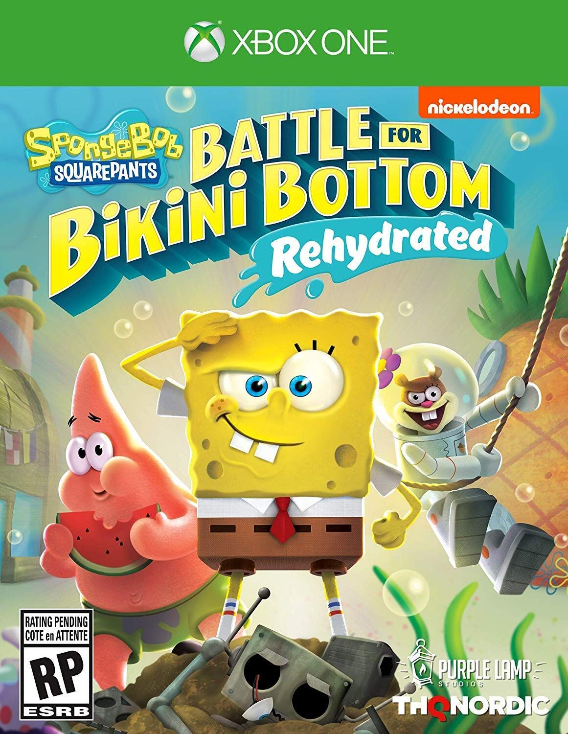 Spongebob Squarepants: Battle for Bikini Bottom - Rehydrated - Xbox One Standard Edition