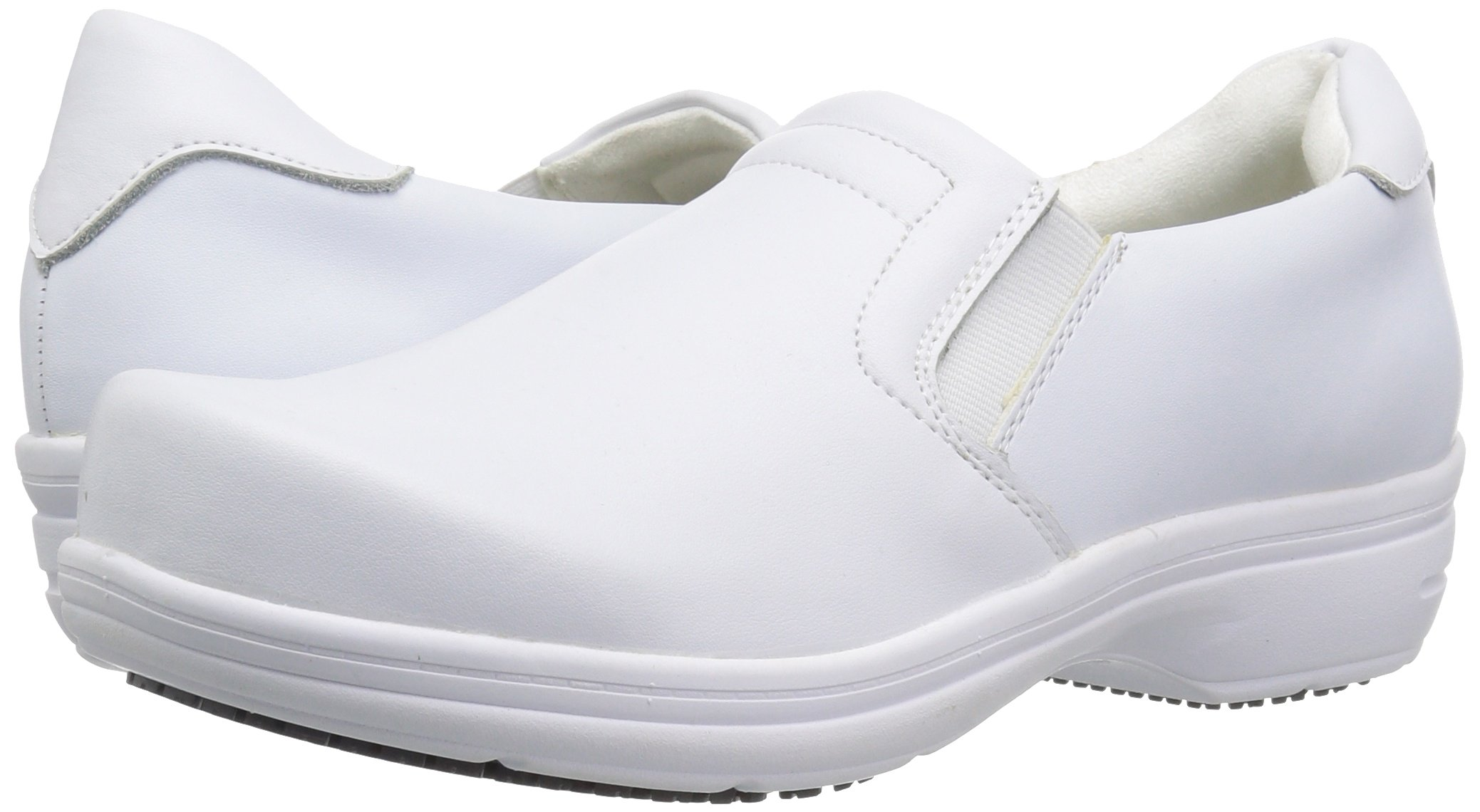 Easy Works Women's Bind Health Care Professional Shoe, White, 8.5 M US by Easy Works (Image #6)
