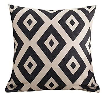 Amazon.com: multi-size geométrico manta funda de almohada ...