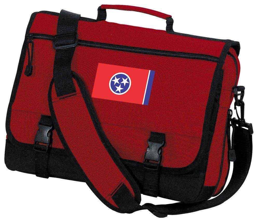 Tennessee Flag Laptop Bag Tennessee Messenger Bag or Computer Bag