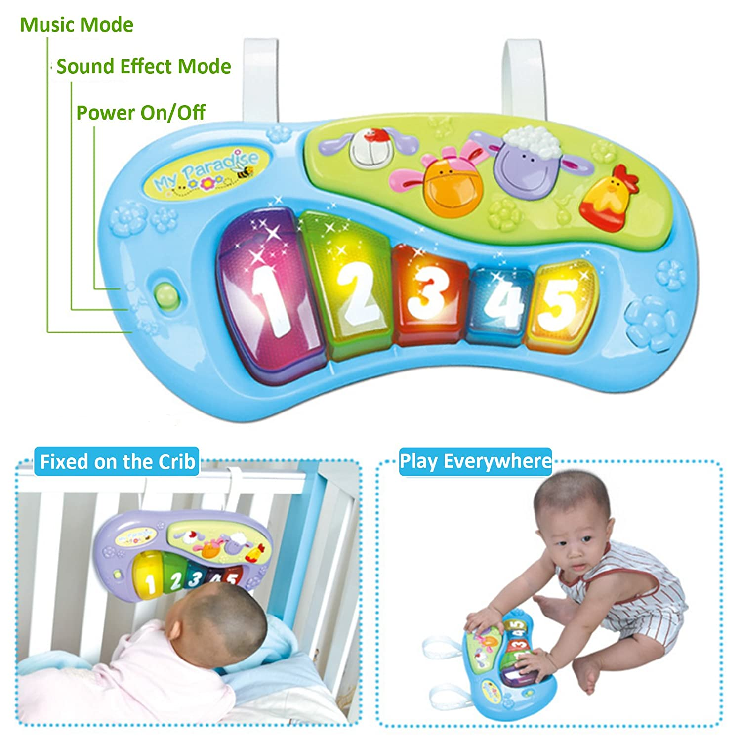 3c39e2395 Huile Baby Activity Learning Center Baby Stationary Jumper Bounce ...