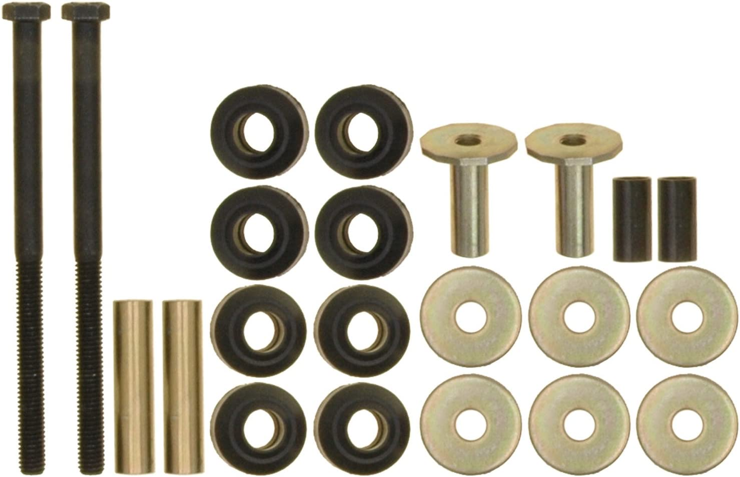 ACDelco 45G2013 Professional Front Suspension Stabilizer Bar Link Kit with Hardware