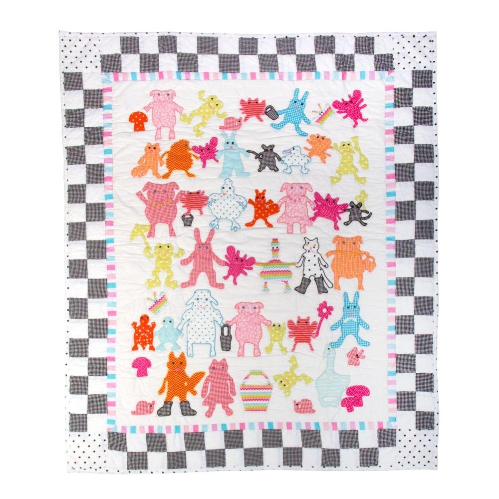 MacKenzie-Childs Animal Parade Baby Quilt
