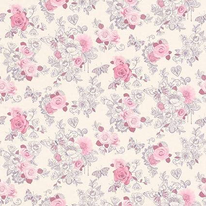 Rasch Portfolio Wallpaper 202304 Kids Childrens Girls Pink