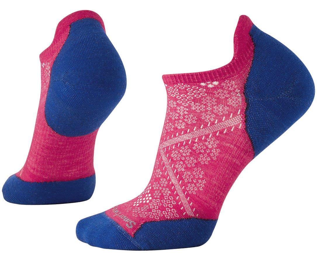 SmartWool Women's PhD Run Light Elite Micro Socks (Potion Pink) Medium