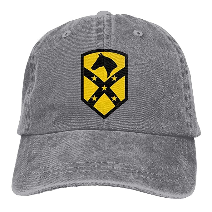84babbccc18f5e Fort Bliss 1st Cavalry Division 15th Denim Dad Cap Baseball Hat Adjustable  Sun Cap at Amazon Men's Clothing store: