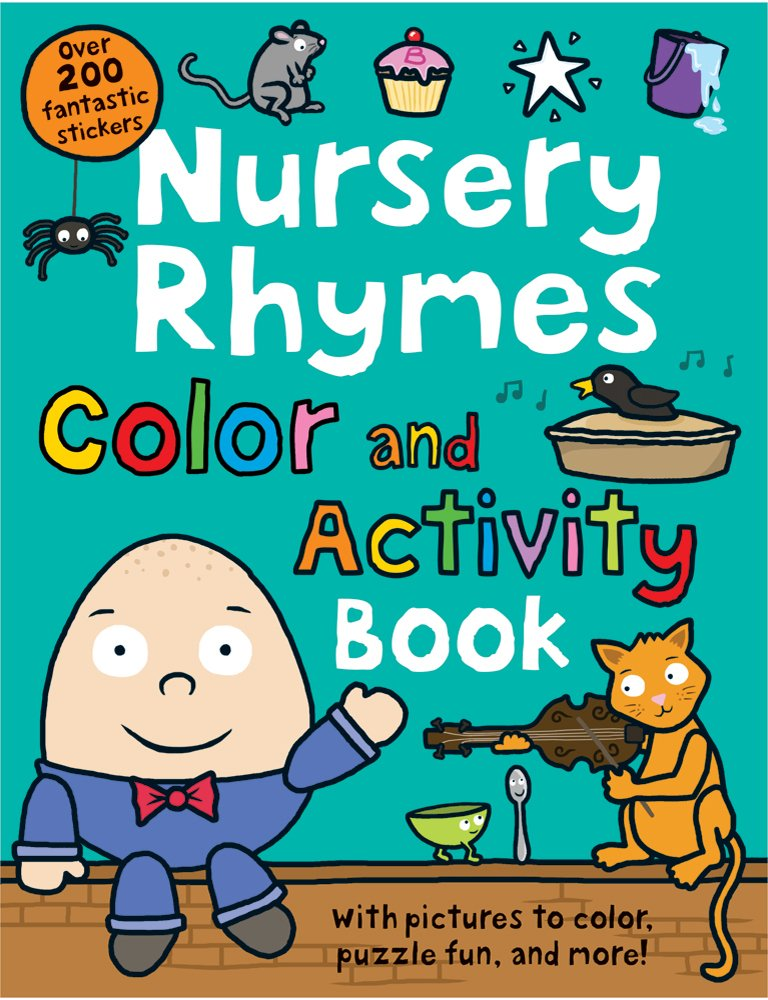 Download Nursery Rhymes Color and Activity Book PDF