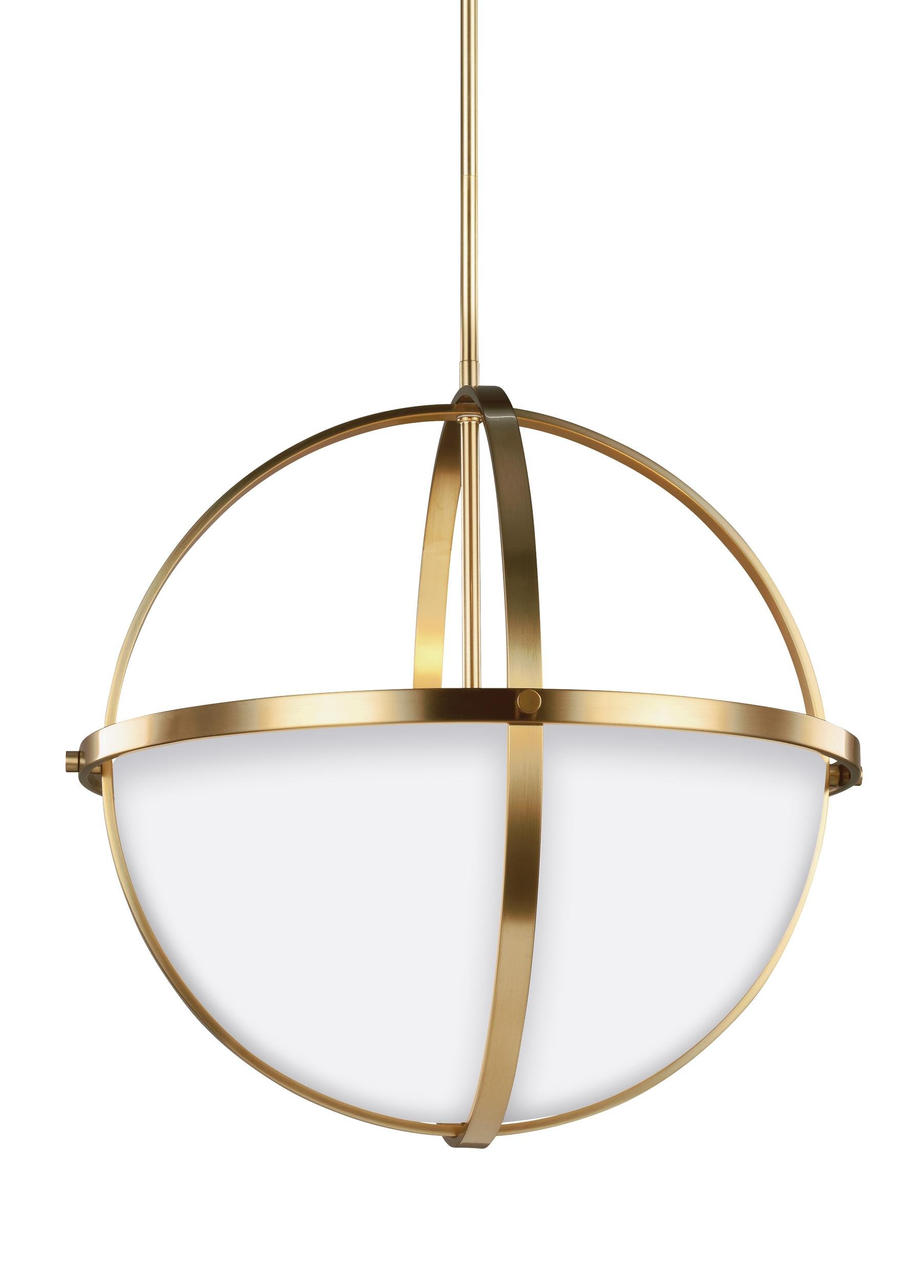 Sea Gull Lighting 6624603-848 Alturas Three Light Pendant Satin Bronze