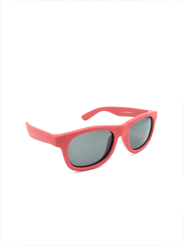 Kids/Baby Rubber Flexible Wayfarers Polarized Sunglasses 100% UVA & UVB
