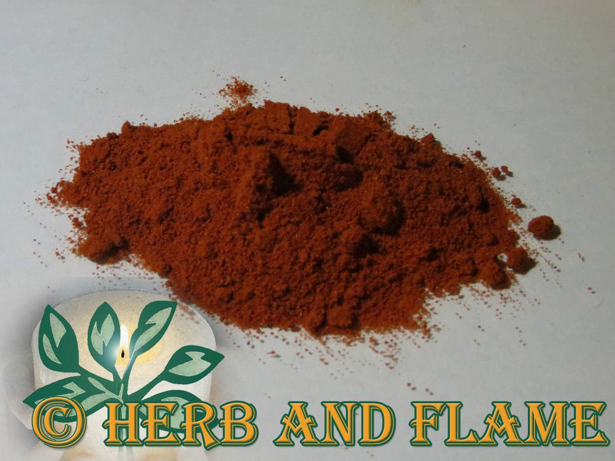 Dried Blood Root Bloodroot Powder (Sanguinaria canadensis 12 ounce)