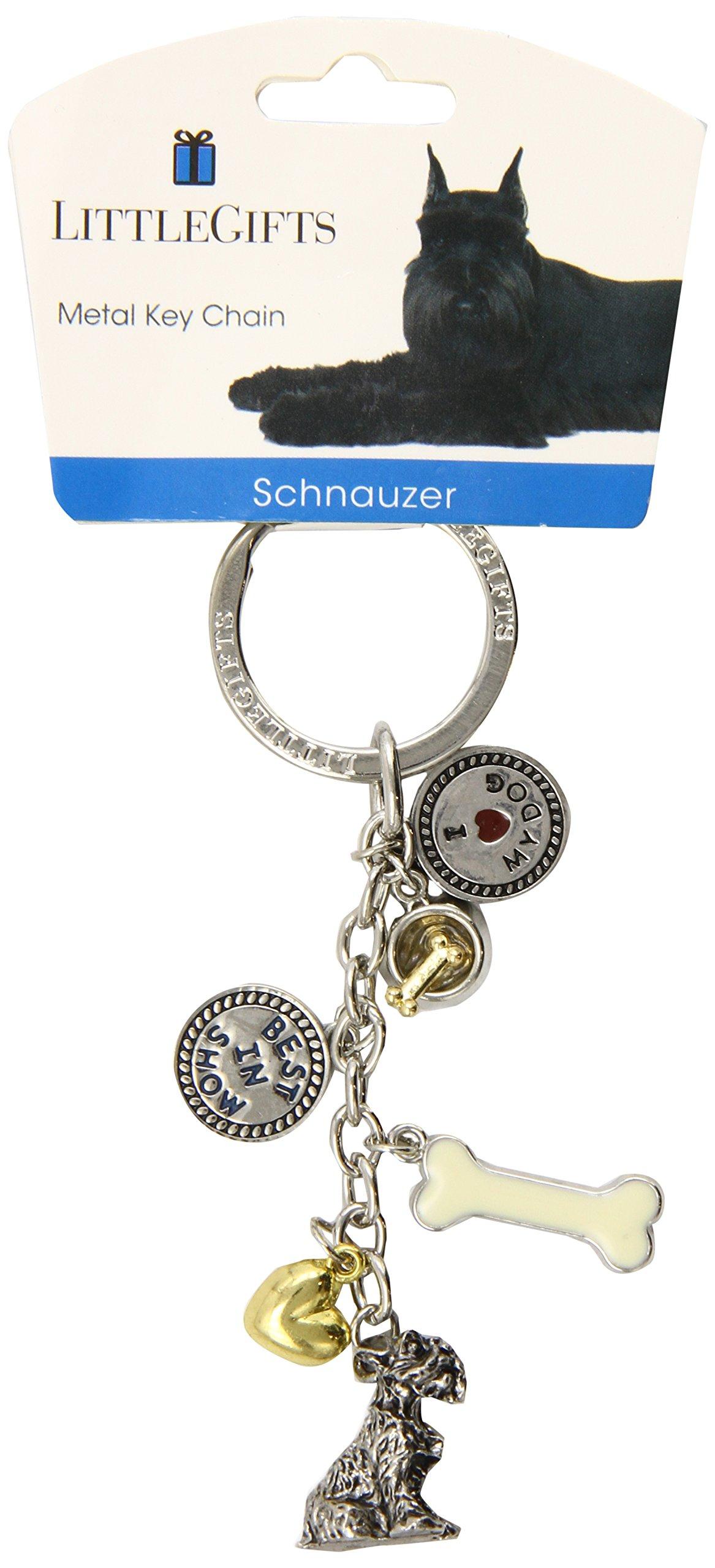 Little Gifts Schnauzer V3 Keychain
