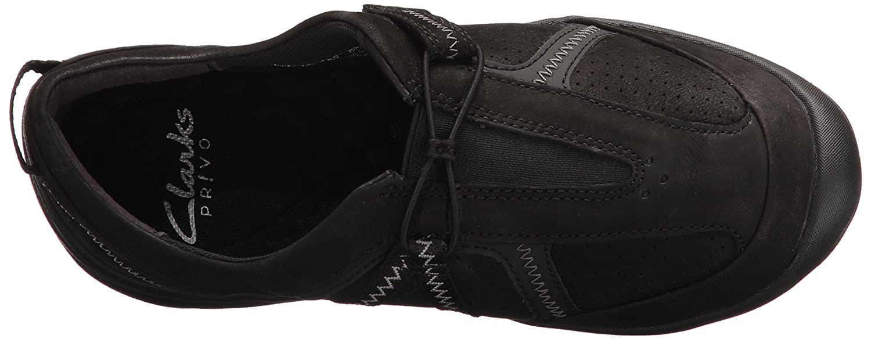 CLARKS Women's Asney Slipon Fashion Sneaker B01N2ACY5Q 6.5 C/D US|Black Nubuck