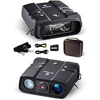 Prismáticos Visión Nocturna 3.6-10.8x31mm 64GB 1080P binoculares Digitales Infrarrojos de Alta Potencia con visión…
