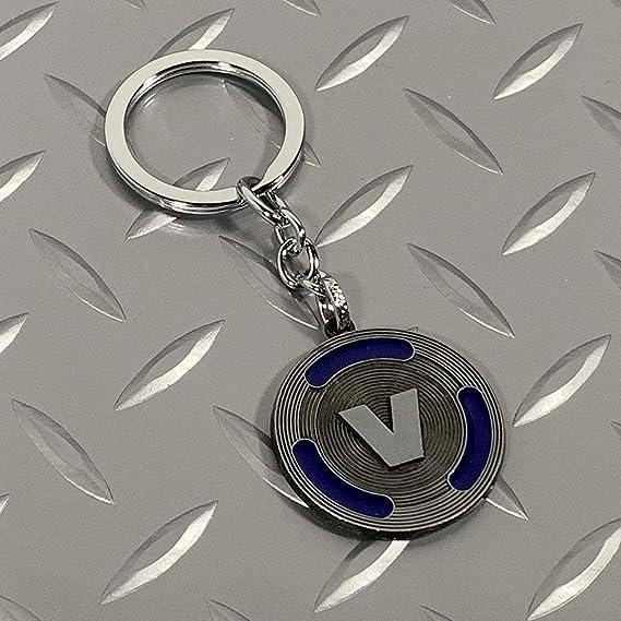 Amazon.com: Llavero con diseño de V Bucks – Llavero con VBux ...