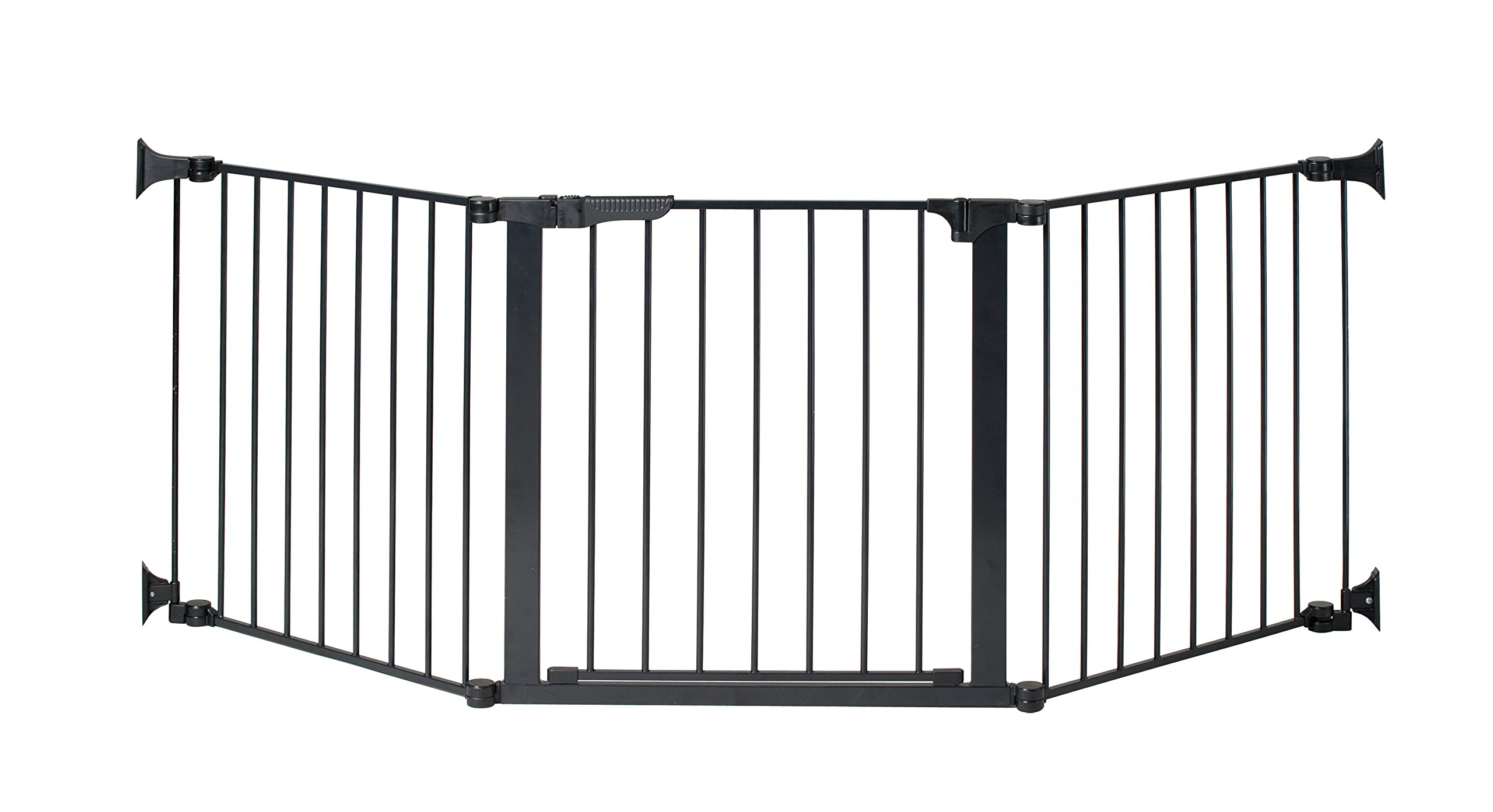 KidCo Auto Close Configure Gate with Door, Black, 24'' by KidCo