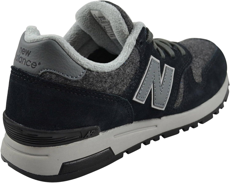 New Balance Herren Ml565 Schwarz / Grau