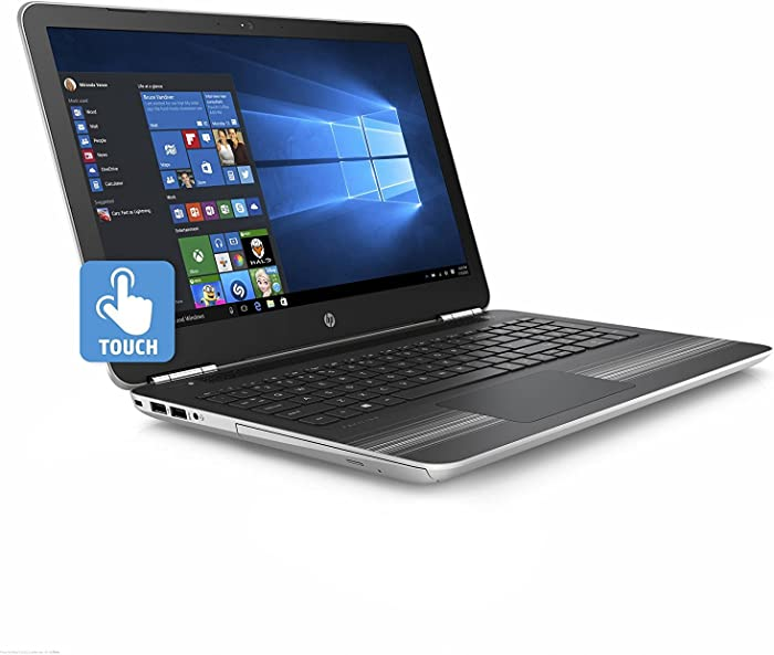 "2017 HP Pavilion 15.6"" HD SVA WLED-Backlit Touchscreen Laptop PC, Intel Core i5-7200U Processor, 12GB DDR4, 1TB HDD, Backlit Keyboard, DVD Burner, WiFi, Bluetooth, HDMI, B&O Play, Windows 10 Home"