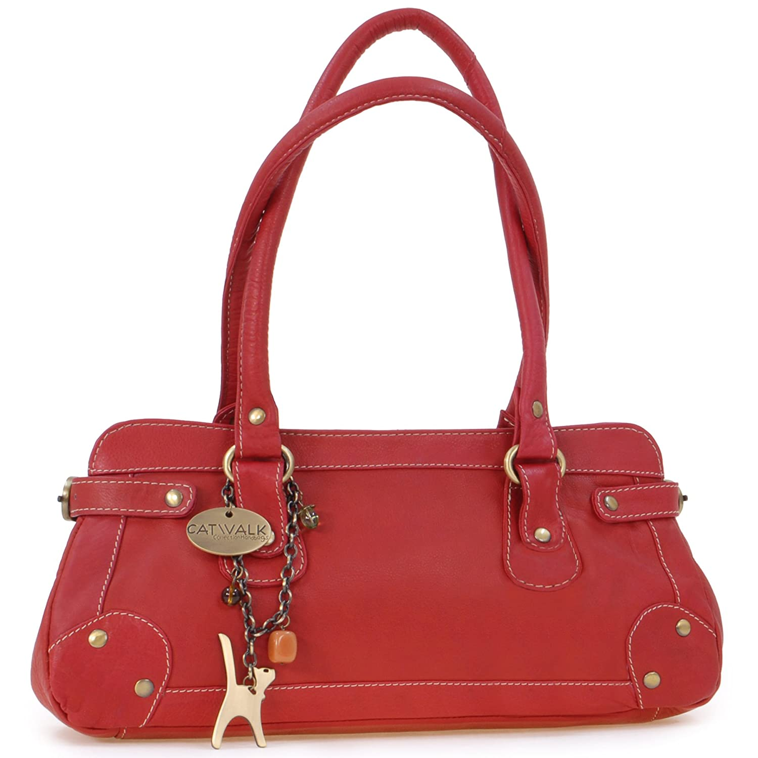 Catwalk Collection Leather Handbag - Carnaby St. Catwalk Collection Handbags 5060274970688