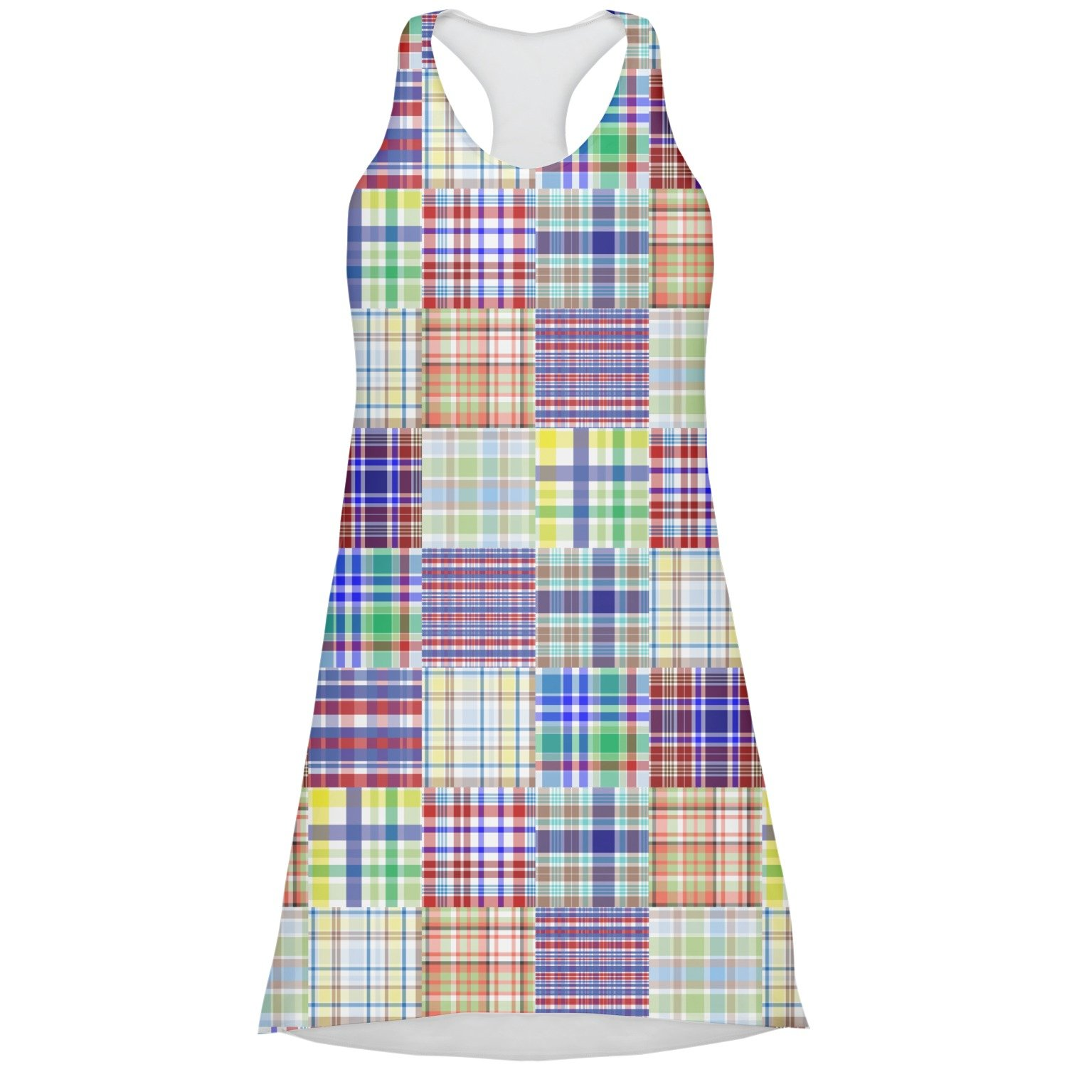 Blue Madras Dress