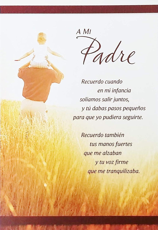 Amazon.com : A Mi Padre - Feliz Cumpleanos Happy Birthday to ...
