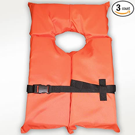Tribord Life Jacket Orange new with tags.