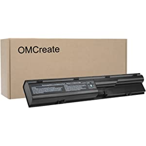 OMCreate Battery Compatible with HP Probook 4540S 4530S 4440S 4430S 4545S 4535S 4330S Series, fits
