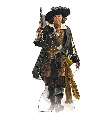 b9941ec50ab16 Amazon.com  Advanced Graphics Captain Barbossa Life Size Cardboard Cutout  Standup - Disney s Pirates of the Caribbean  Home   Kitchen