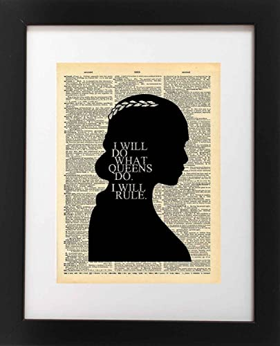 Game Of Thrones Quotes Canvas Framed Print Wall Art ~ More Size