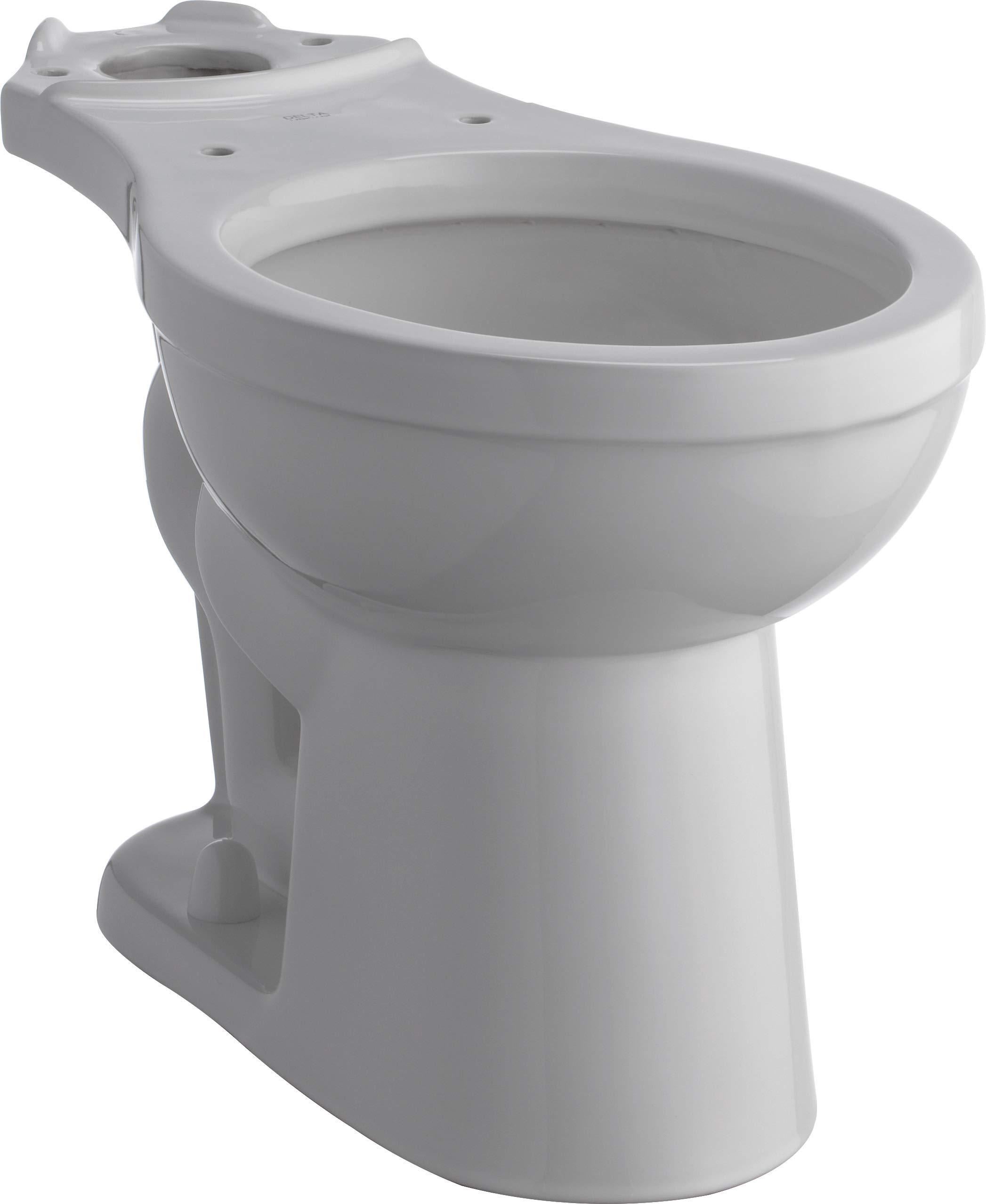 Delta C23905-H-WH Haywood Toilet White