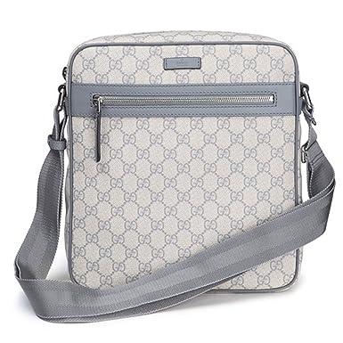 466a83063 Gucci 'GG' Supreme Shoulder Messenger Bag 201448, Blue: Amazon.co.uk:  Clothing