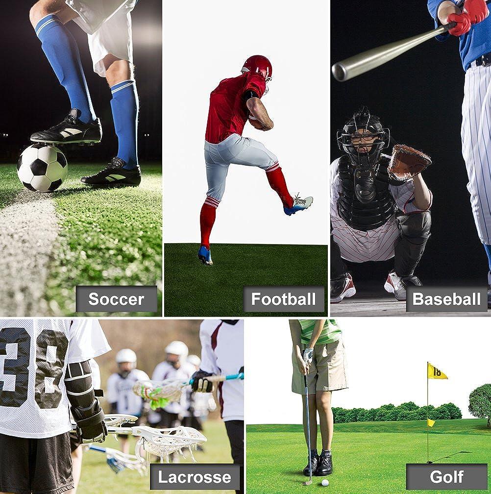 Amazoncom Long Football Socks Feelingway Unisex Soft Cushioned