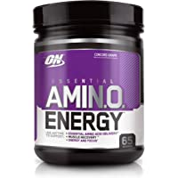 Optimum Nutrition Amino Energy Concord Grape Anytime Energy and Amino Acids, 65 Servings