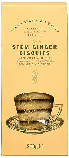 Cartwright & Butler Stem Ginger Biscuits 200 g