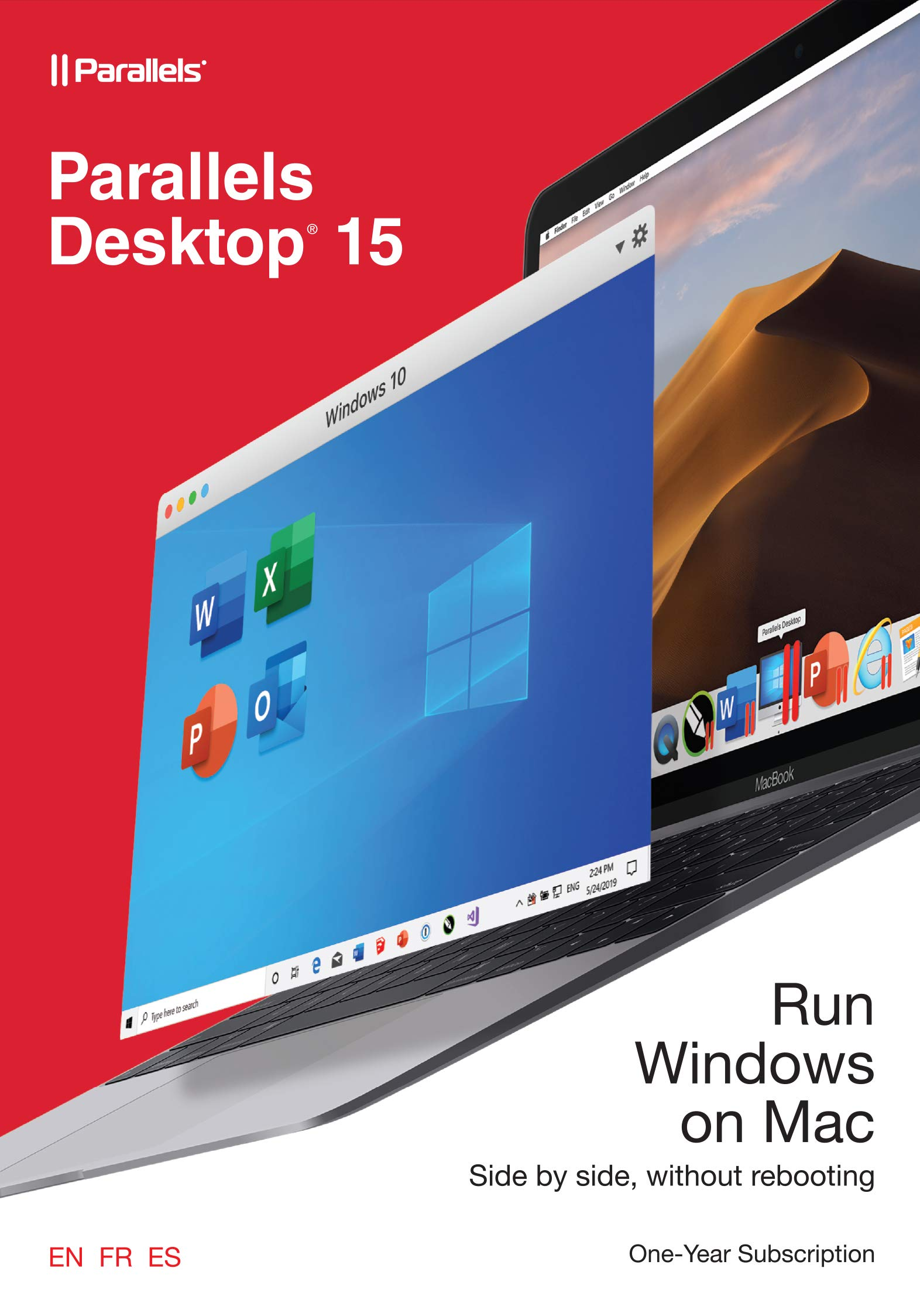 Parallels Desktop 15 for Mac, 1-Year Subscription [Mac Online Code] by Parallels Software