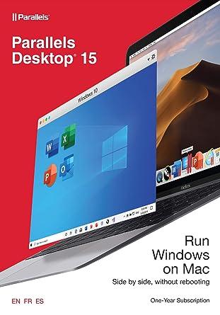 Amazon com: Parallels Desktop 15 for Mac, 1-Year