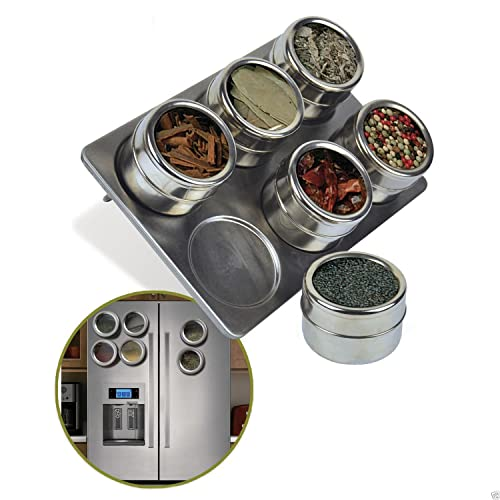 Soho Spices 20 Piece 6 6 X 57 X 34 5 Cm Magnetic Spice