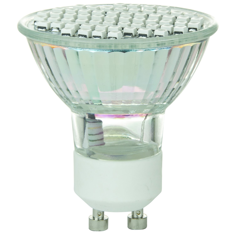 Sunlite 80327-SU MR16//60LED//2.8W//GU10//120V//G LED 120-volt 2.8-watt GU10 Based MR16 Lamp Green Sunshine Lighting